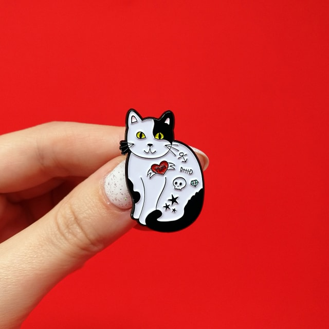 Cattoo Cat Enamel Pin