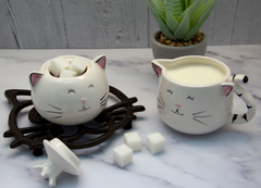 Cheeky Cat Trinket Pot with Lid