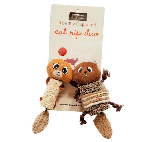 Chip & Chap Catnip Duo Toy