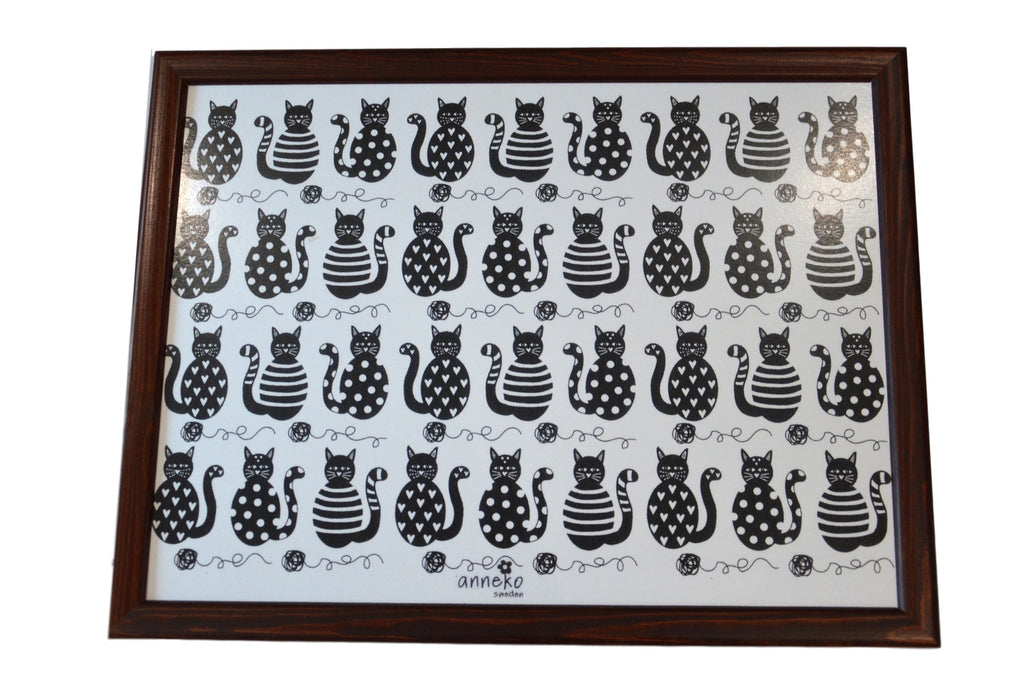 Cat Design Lap Tray