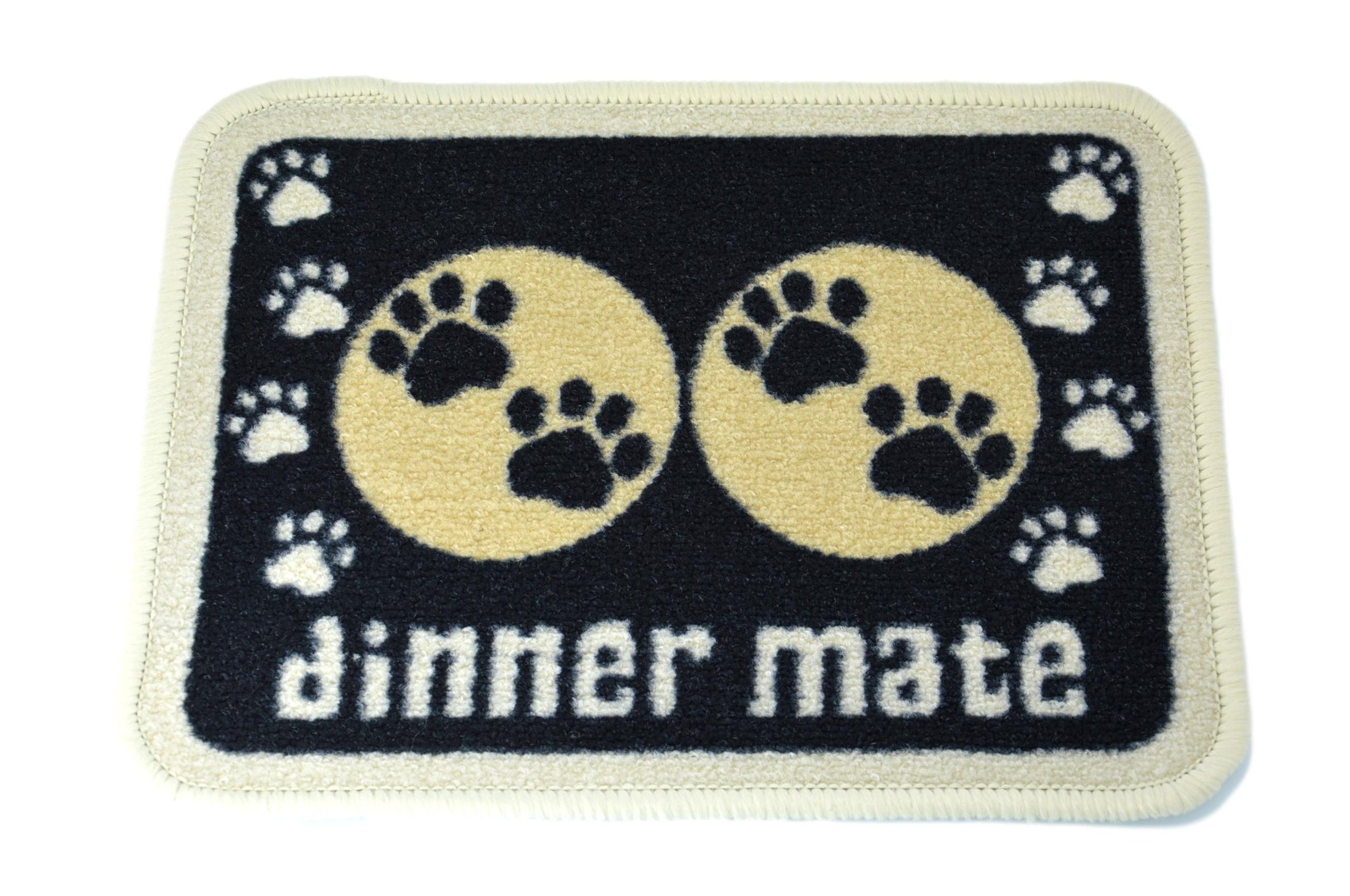 Black Paws Mat