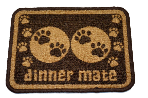 Brown Paws Mat
