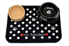 Spotty Black Mat