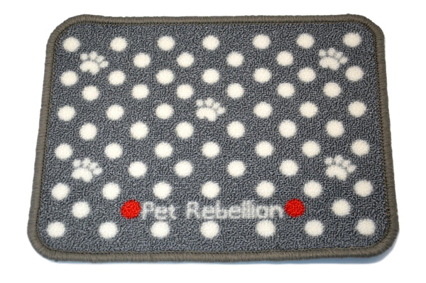 Spotty Grey Mat