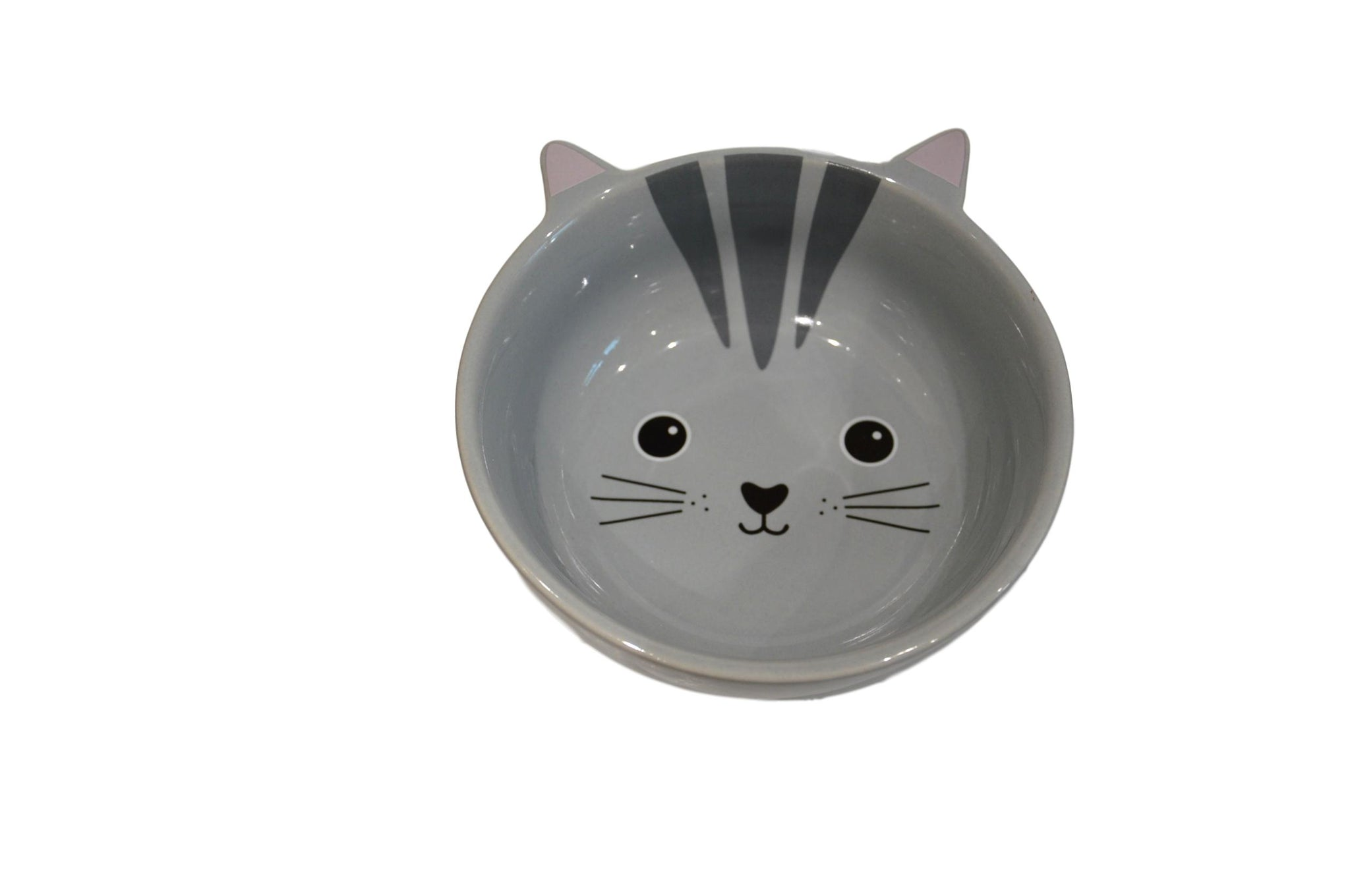 Sass & Belle Kawaii Friends Grey Cat Food Bowl