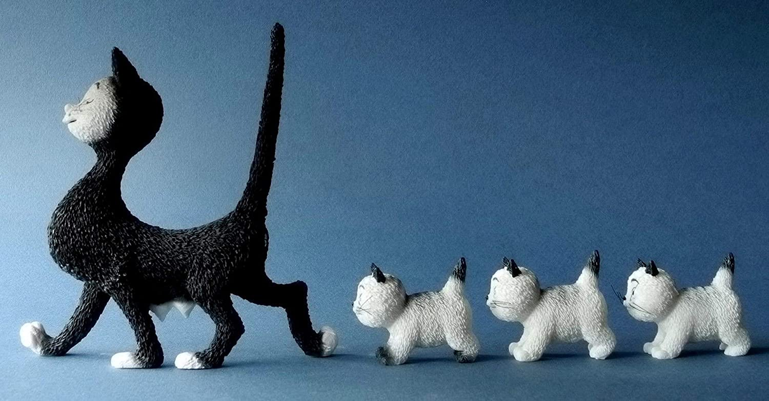 Dubout Cats - The Walk Cat Figurine