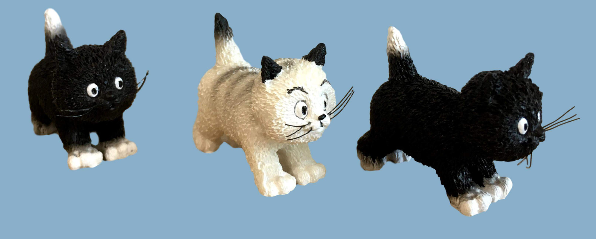 Dubout Cats - The Walk Cat Figurine (Extra Pack)