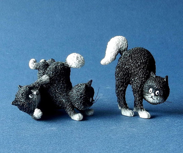 Dubout Cats - Happy Days Cat Figurine (Extra Pack)