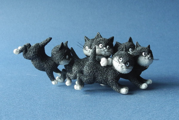 Dubout Cats - Playtime Cat Figurine