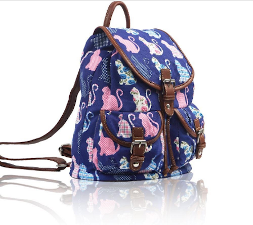 Kitty Retro Rucksack