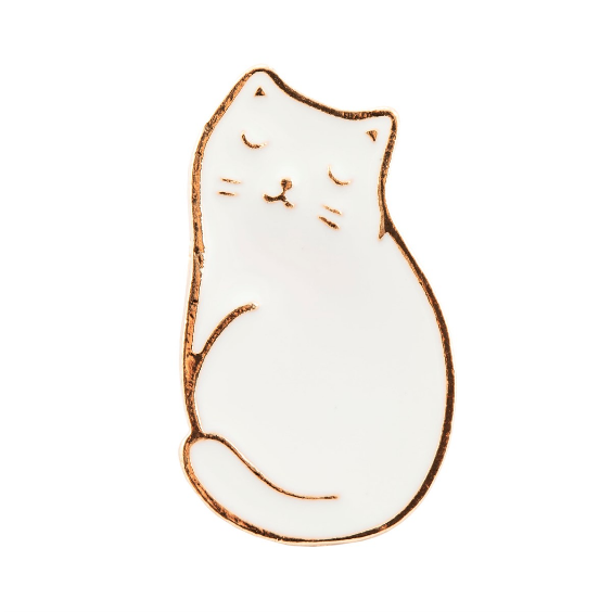 Cutie Cat Enamel Pin