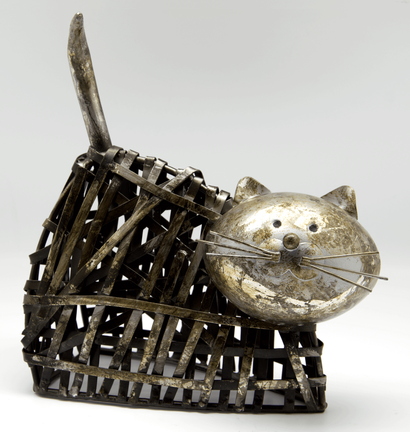 High Quality Metal Cat Statue