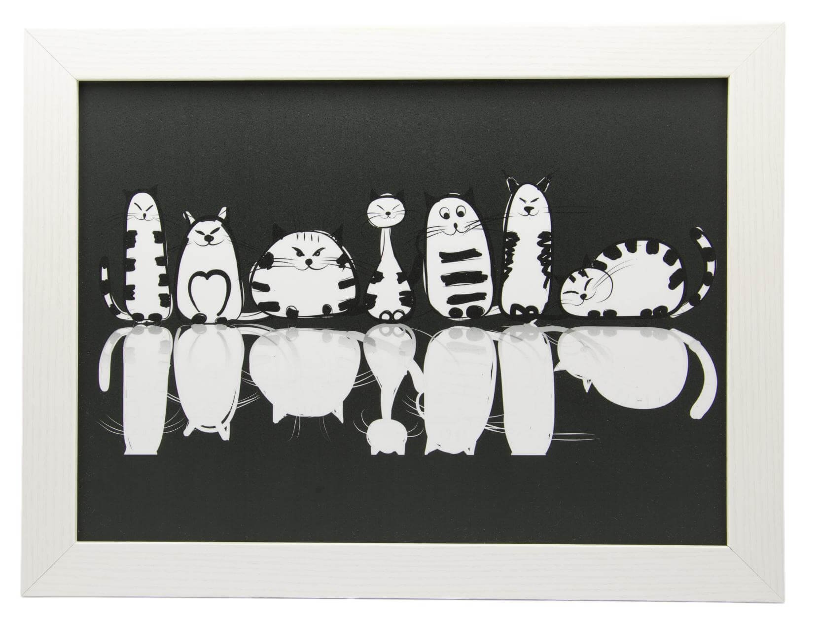 Cats Reflections Lap Tray by Fabulous Felines