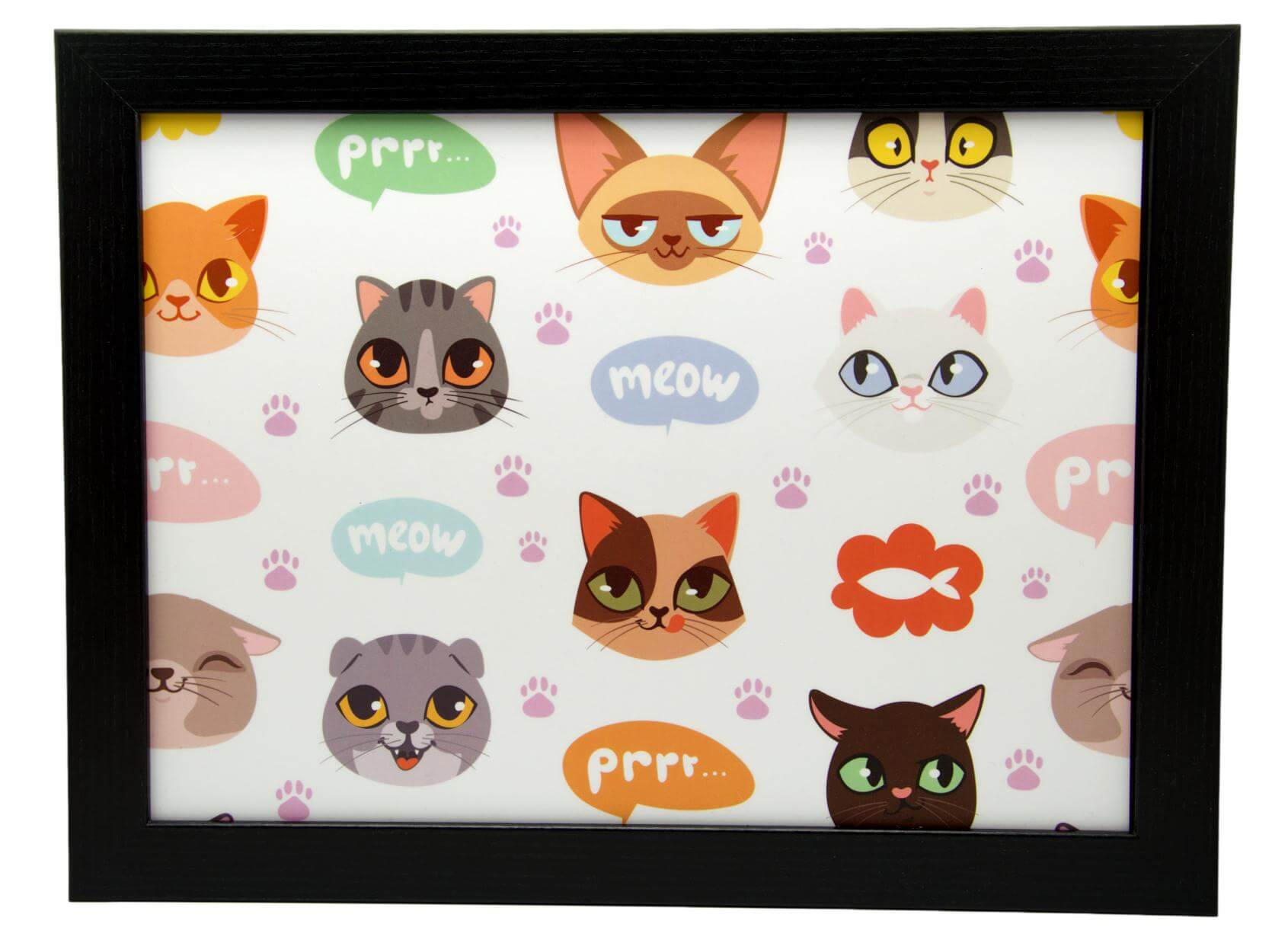 Crazy Cats Lap Tray by Fabulous Felines