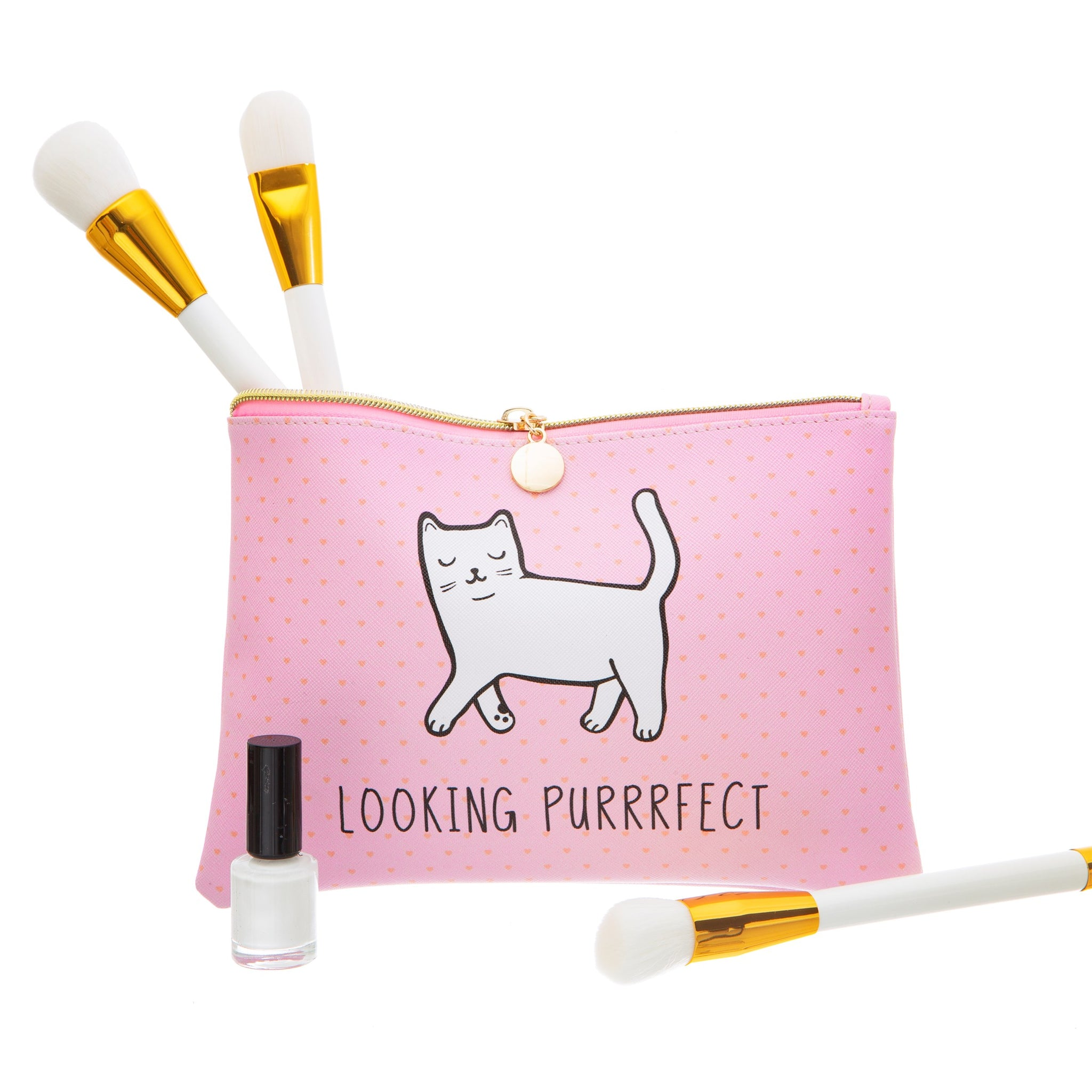 Cutie Cat Make-Up / Clutch Bag / Pencil Case