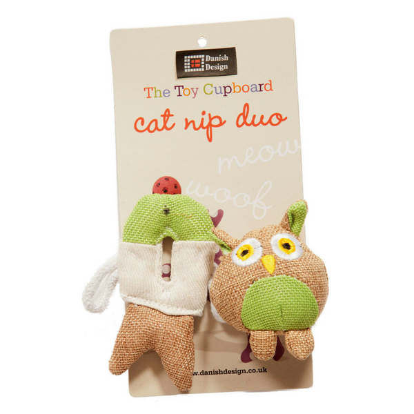 Fido & Fish Catnip Duo Cat Toy