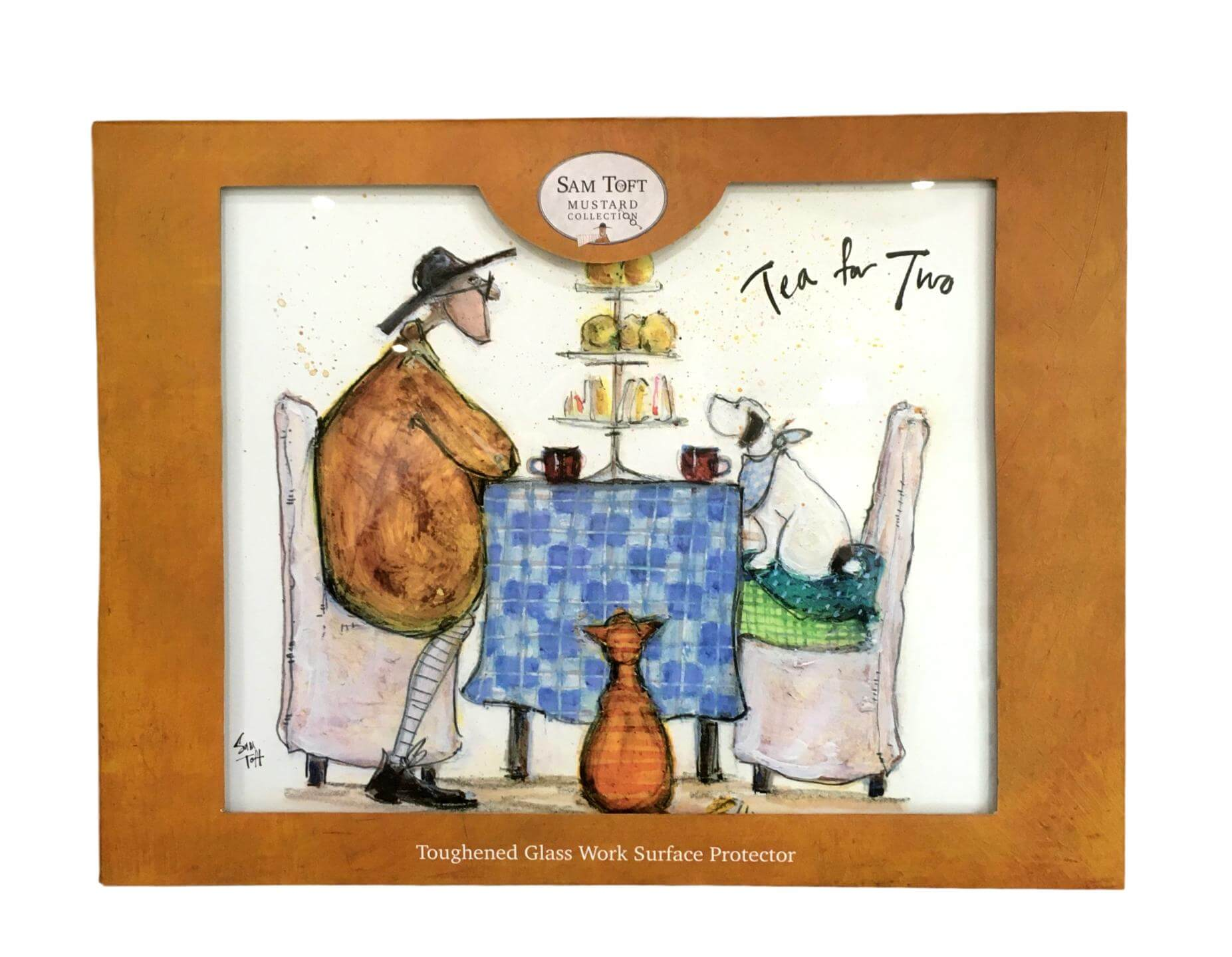 Sam Toft Tea for Two Worktop Saver Work Surface Protector
