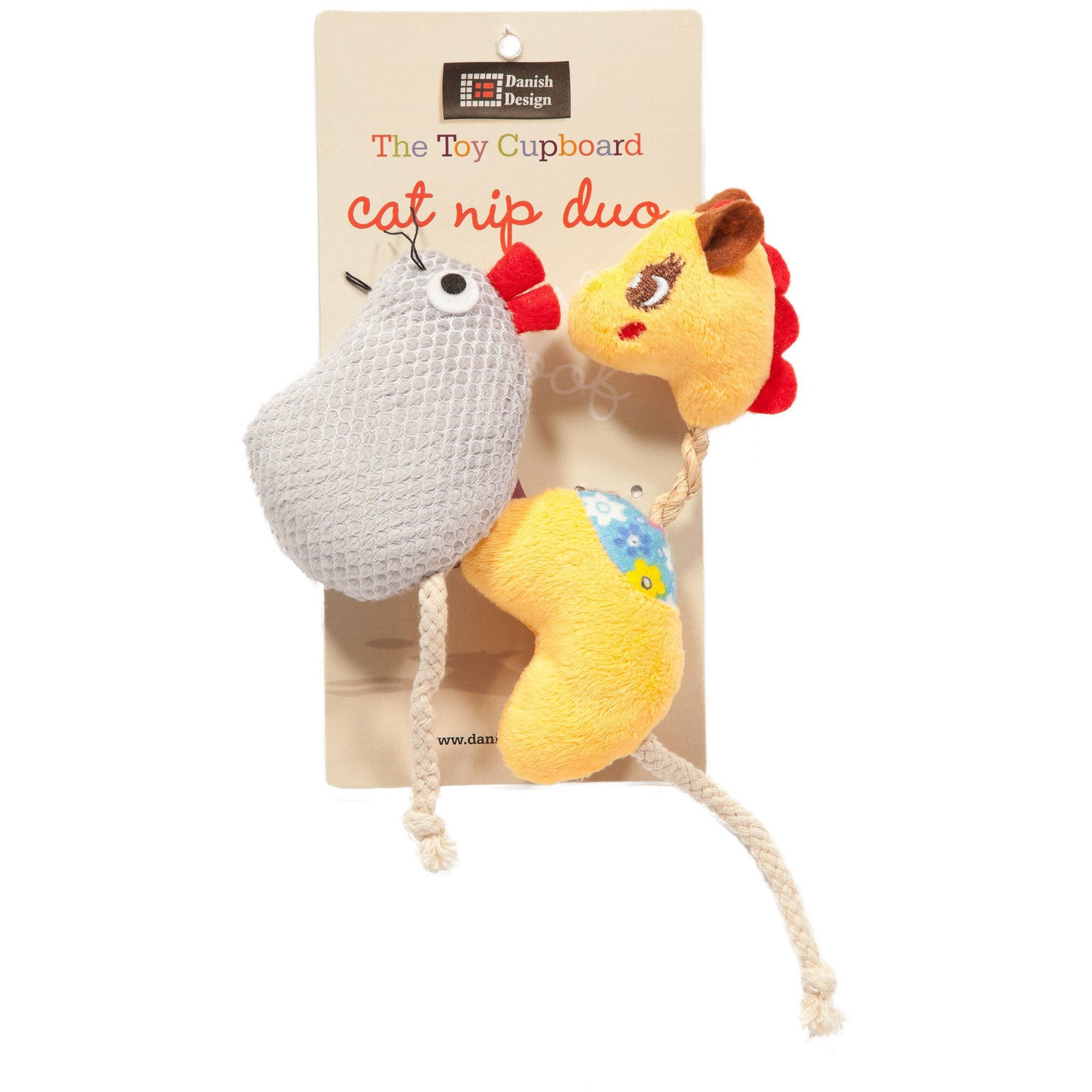 Gracie & Milly Catnip Duo Cat Toys