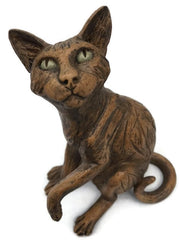 Hand Sculptured Resin Cat Figurines by Designer Pippa Hil