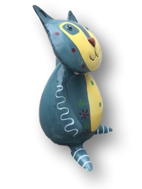 Colourful Metal Cat Money Box