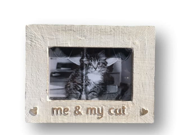 Me & My Cat Picture Frame