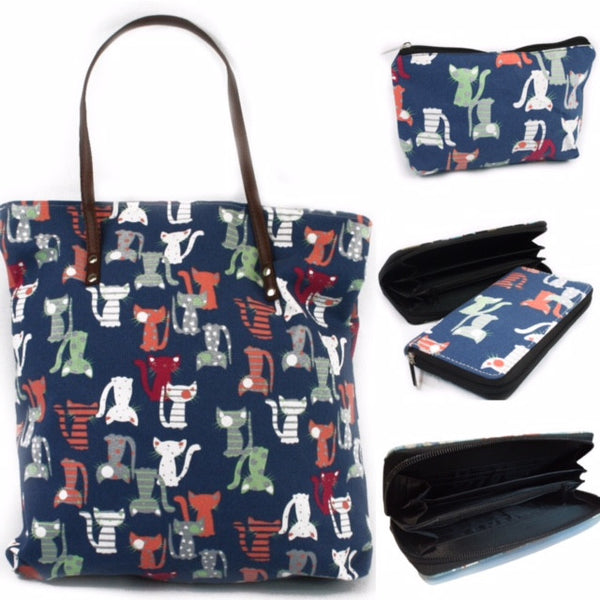Holdall with Matching Wash Bag and Purse