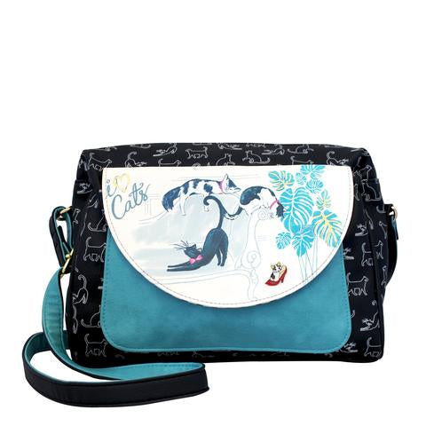 Keepsake Cat Mini Cross Body Shoulder Bag