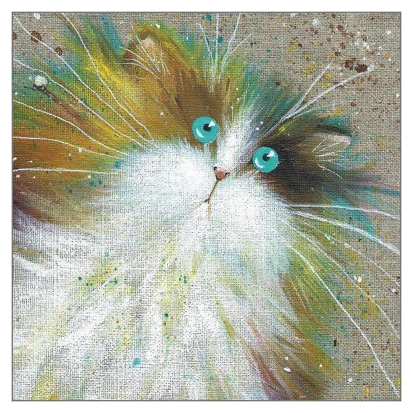 'Crumble' Cat Greeting Card
