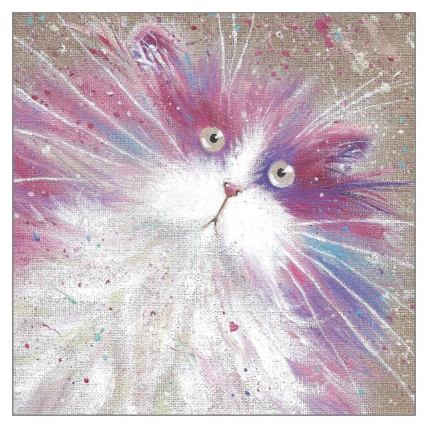 'Flump' Cat Greeting Card