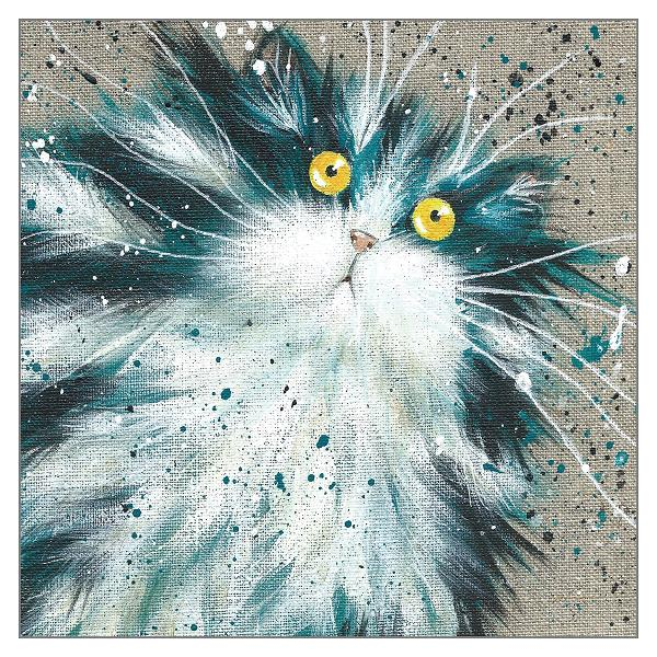 'Humbug' Cat Greeting Card