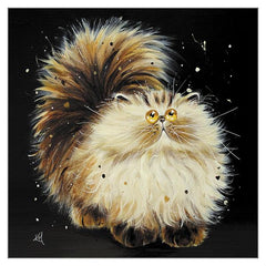 'Tabitha' Cat Greeting Card