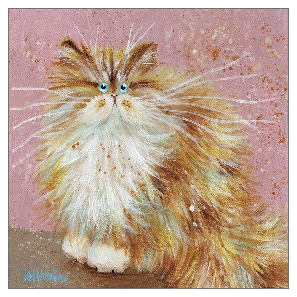 'Schnucki' Cat Greeting Card