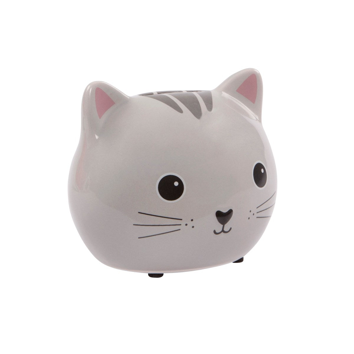 Sass & Belle Kawaii Friends Grey Cat Money Box