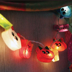 Handmade Hanging Cat Paper Lights