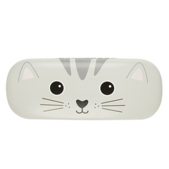 Nori Cat Kawaii Design Hard Glasses Case