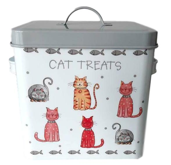 Faithful Friends Cat Treat Jar