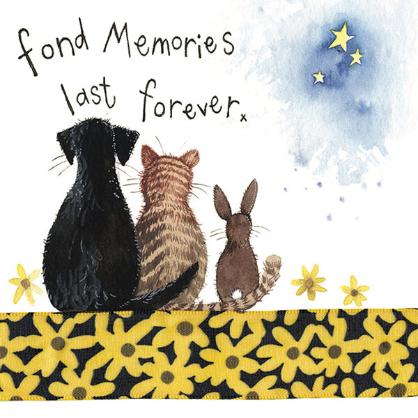Fond Memories Little Sparkle Greetings Card