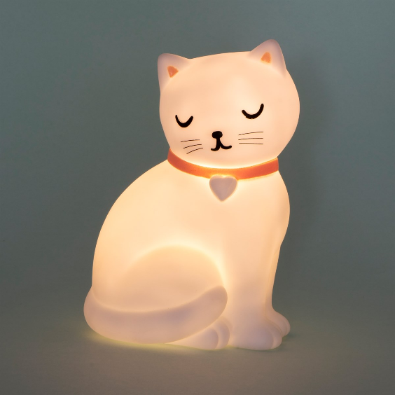 Cutie Cat White Cat Lamp