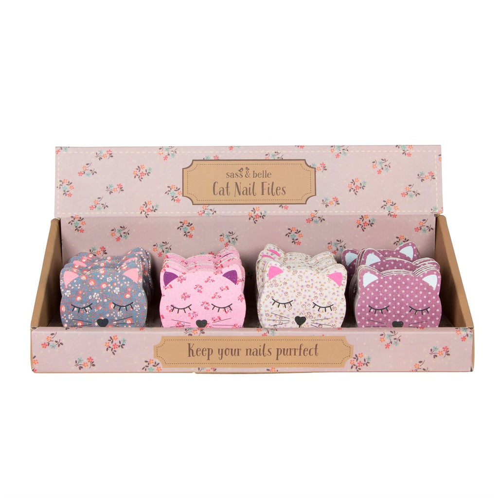 Sass & Belle Cute Cat Emery Boards