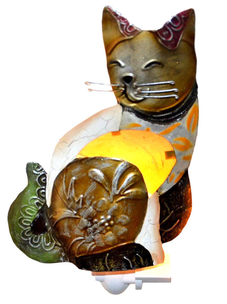 Seashell Small Cat Night Lamp