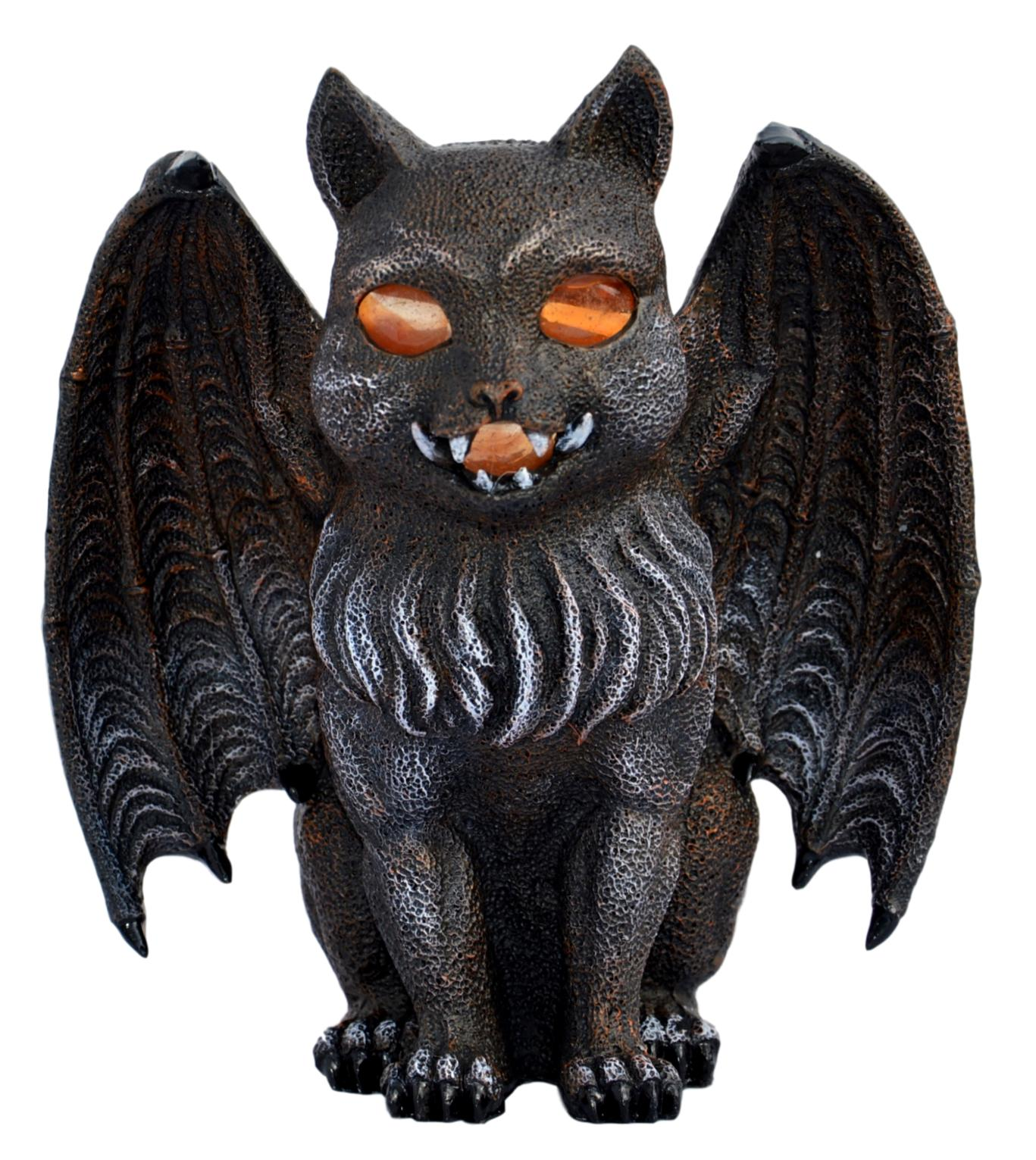 Fantasy Bat Cat Lamp