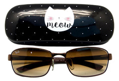 Meow Hard Case Glasses Case