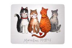 Terrific Tortoiseshells Cat Placemat