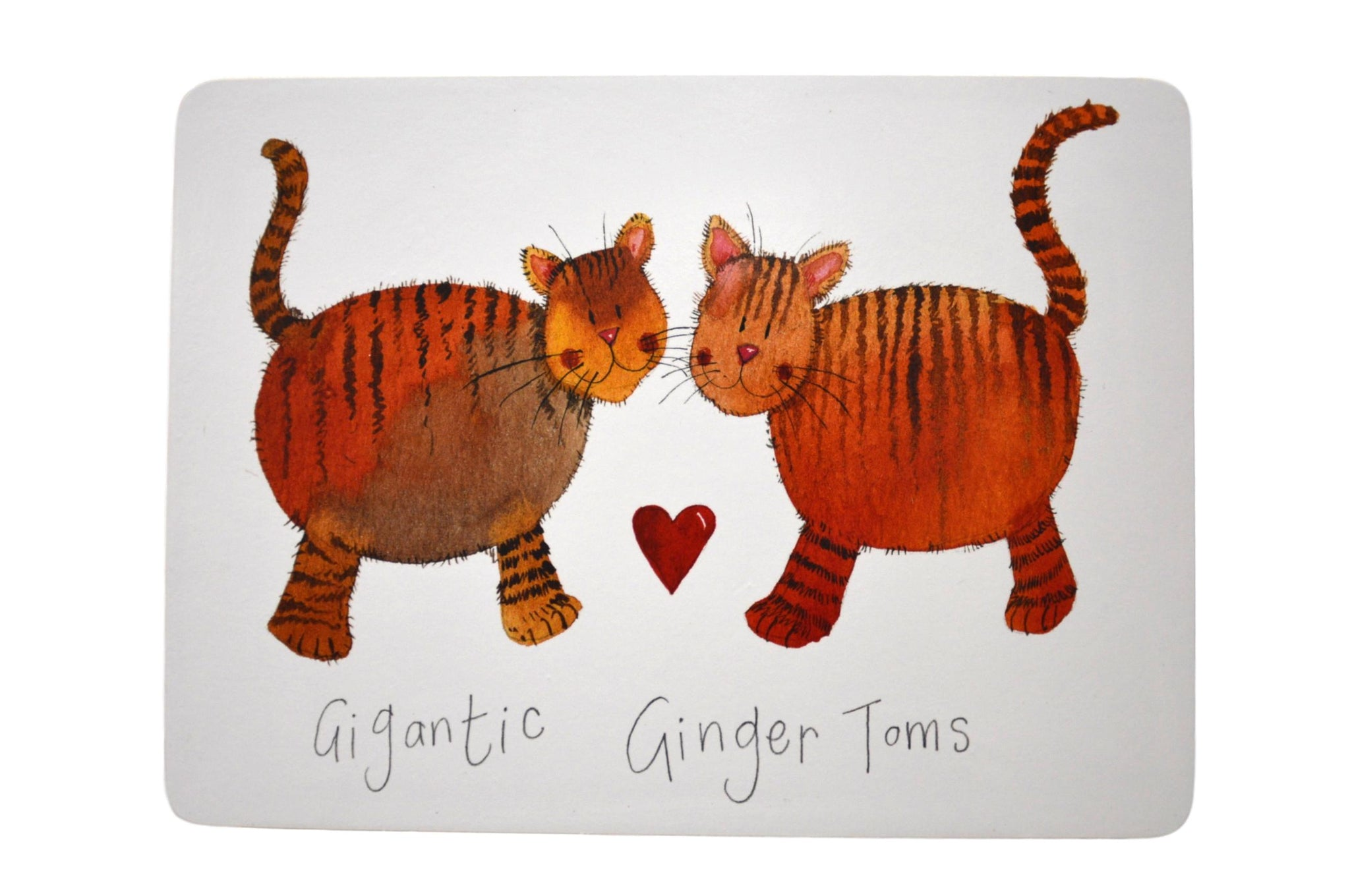 Gigantic Ginger Toms Cat Placemat