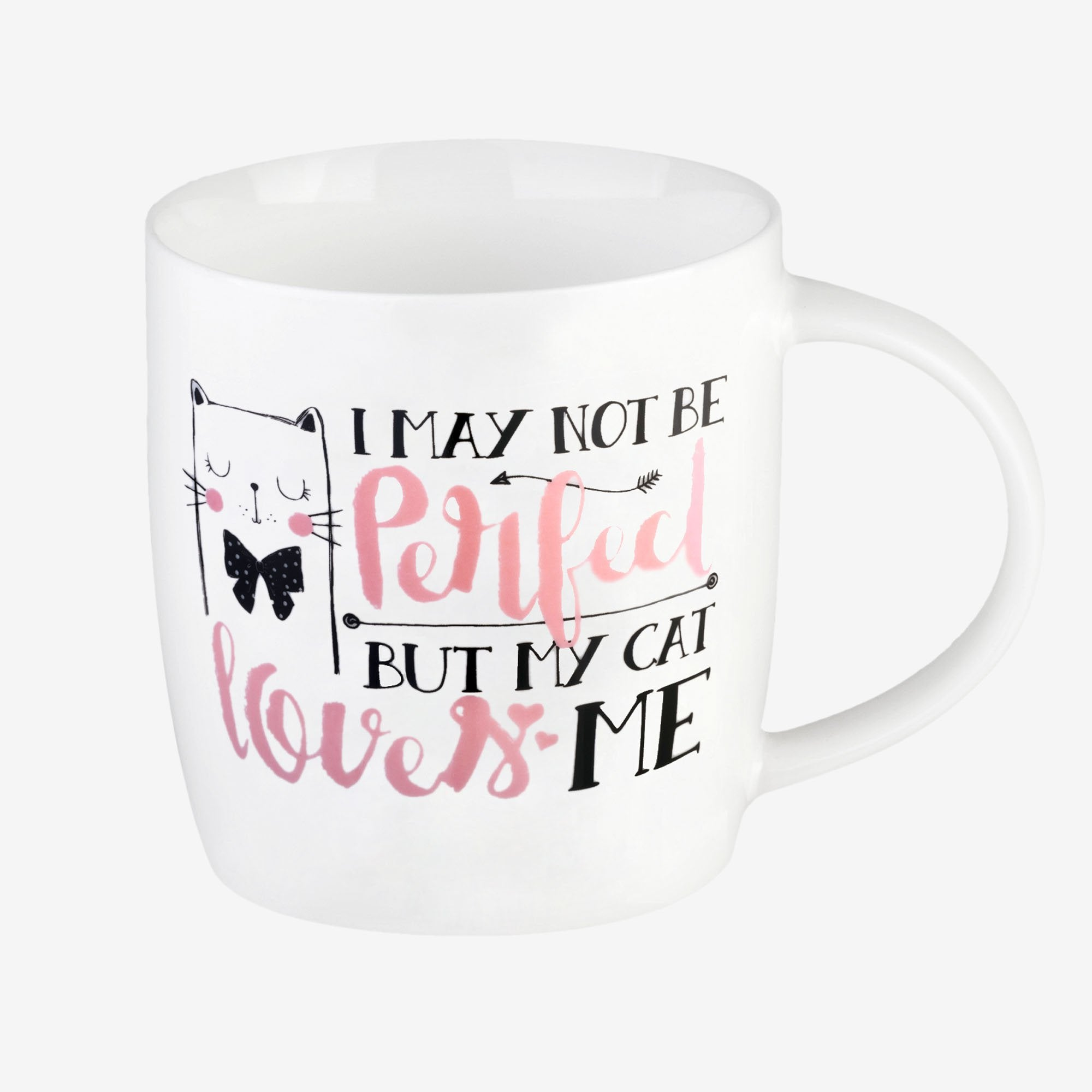 Buongiorno Mug - I May Not be Perfect But My Cat Loves Me