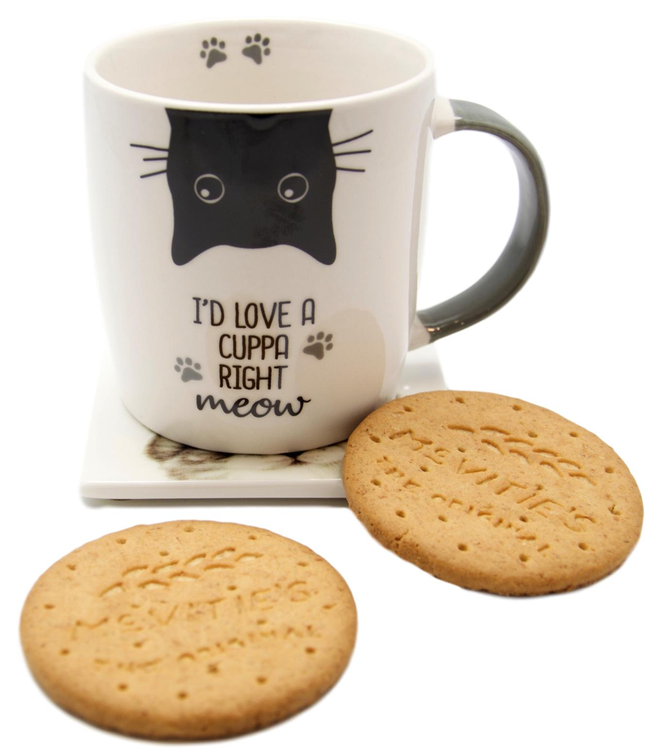 I'd Love a Cuppa Right Meow Mug