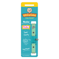 Kittyrama Meadow Silicone Hypoallergenic Collar