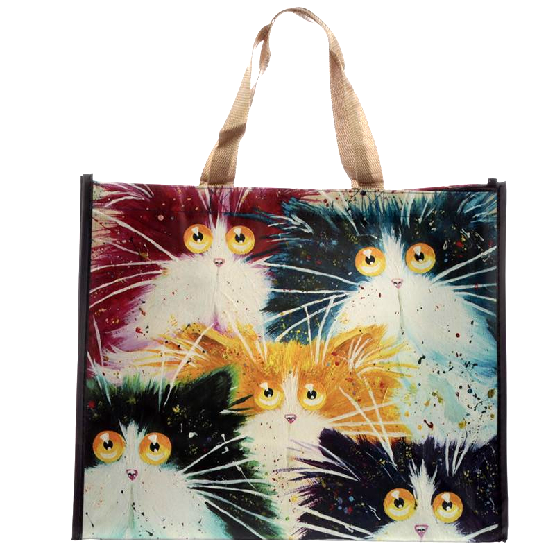 Kim Haskins Furiety Shopping Tote Bag