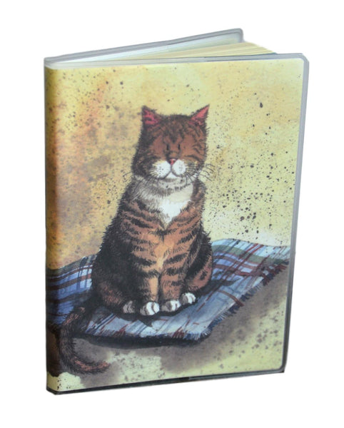 Blanket Cat Small PVC Jacket Soft Notebook