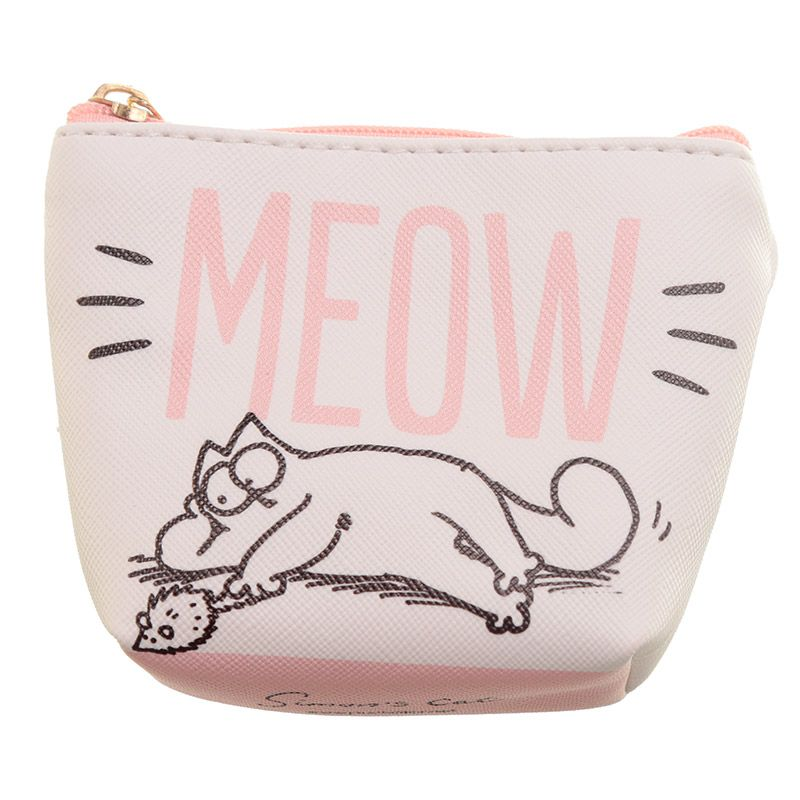 Simon's Cat MEOW Small Coin Purse